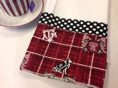 Texas A&M Aggie Towel by CozyByChristine on Etsy