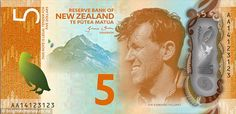 The revised New Zealand $5 and $10 notes will be issued to banks in October this year