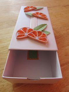 Kręciołki Weronki: Pudełko quillingowe II