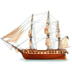Ship model Constellation, wooden kit Artesania Latina (www.victoryshipmodels.com)