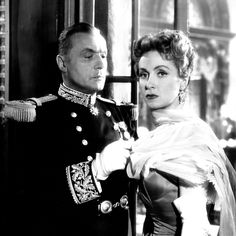 Charles Boyer and Danielle Darrieux in Max Ophüls's THE EARRINGS OF MADAME DE… ('54)