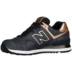 NEW BALANCE 574 SERIES WL574PMR CHARCOAL/BRONZE WOMEN SHOES ALL SIZES #NewBalance #FashionSneakers