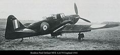 Boulton Paul Defiant is a British interceptor aircraft that served with the RAF during The Defiant was designed as a turret fighter Ww2 Aircraft, Fighter Aircraft, Fighter Jets, Ww2 Planes, World War Two, Top Ten, Great Britain, Wwii, Aviation