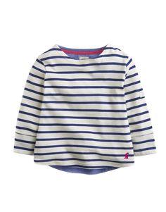 "#Joules ""Laura"" - € 33,10 - Wikimo Kindermode, Kinder Shirt, cream gestreift by Tom Joule | wikimo.eu"