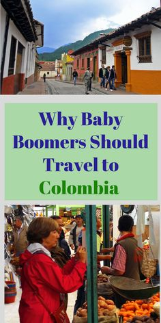 You don't have to be a spring chicken to enjoy a trip to Colombia!