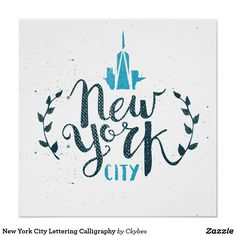 New York City Lettering Calligraphy