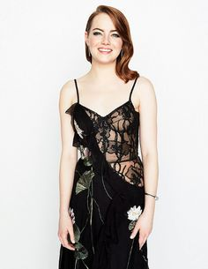 Emma Stone photographed at the SAG Awards for People Magazine