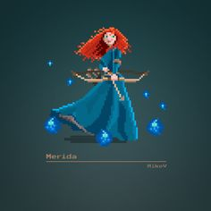 PIXEL ON YOU, PIXEL ON YOUR COW | mikevdesign: Disney 8-bit ...