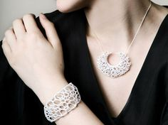 Nervous System Uses 3D Printing to Make Its Bio-Inspired Jewelry Ecouterre