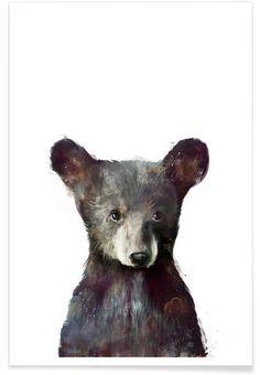 Little Bear as Premium Poster by Amy Hamilton | JUNIQE