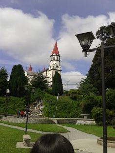 Iglesia Sagrado Corazón, Puerto Varas, Región de los Lagos, Chile.