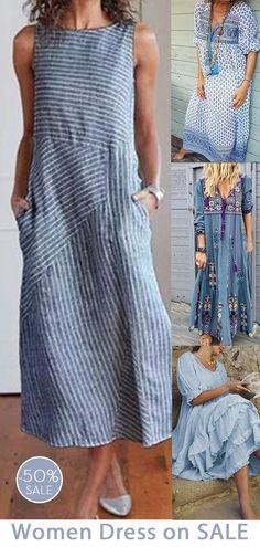 Petite Fashion Tips .Petite Fashion Tips Pretty Outfits, Cool Outfits, Boho Fashion, Fashion Dresses, Petite Fashion, Style Fashion, Bunt, The Dress, Casual Dresses