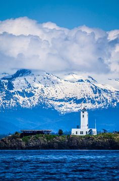20 Five Finger Islands Lighthouse (Alaska) by Robert Downie on Coastal Pictures, Nature Pictures, Love Photography, Landscape Photography, Travel Photography, Oh The Places You'll Go, Great Places, Beautiful World, Beautiful Places