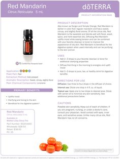 New doTERRA Oils Coming out TODAY! - Red Mandarin! Do you love citrus smells?! Well then, this exciting news is for you! Here is all the info you need to learn about the new oil!