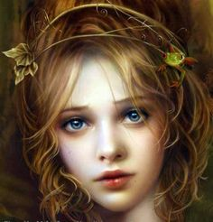 Untitled - by Cris Ortega Fantasy Magic, Fantasy World, Fantasy Castle, Cris Ortega, Love Fairy, Foto Art, Fairy Art, Faeries, Painting & Drawing