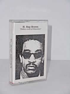 H. Rap Brown Politics and Education cassette The Black National Record Co.
