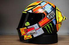 helmets of moto gp | MotoGP Update: picture: Project VR46 AGV Helmet launch
