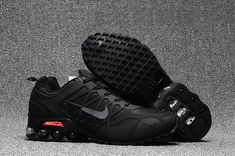 best service 5ad52 fdee8 Online Nike Air Max 2018 All Black Running Shoes