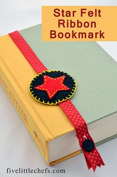 How to make a bookmark using felt and ribbon. I did this with four 10-11 year old girls. They loved it. They were able to complete it in an hour.