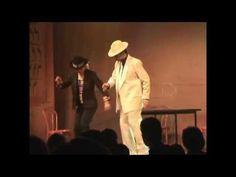 "Tap dance acapella  duet ""w-step"""