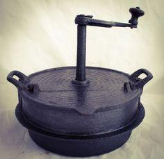 Antique Coffee Roaster Beans Cast Iron Kaffeeröster Koffiebrander grilloir cafe