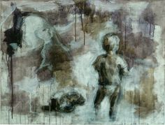 Boy and prairie dog vanitas