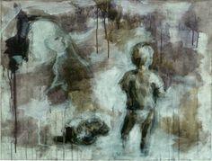 Boy and prairie dog vanitas Vanitas, Contemporary, Dogs, Painting, Art, Craft Art, Doggies, Painting Art, Kunst