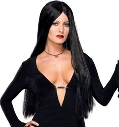 The Deluxe the Addams Family Morticia Addams Wig Adult is a perfect accessory for your Halloween costume this year. Accessorize your costume with our exclusive props, decorations, wigs and many more at Costume SuperCenter. Set your costume above the rest!