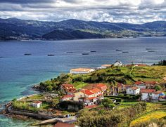 Galicia coast holiday guide: the best beaches, bars, restaurants and hotels Best Seafood Restaurant, Spain Holidays, Fantasy Places, Beach Hotels, Sandy Beaches, Travel Inspiration, Scenery, Coast, Around The Worlds