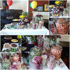 Graduation Party Dessert Table