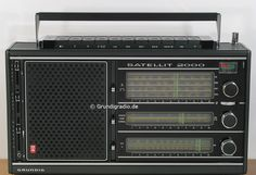 Grundig Satellit 2000 Radios, Hi Fi System, All Band, Short Waves, Ham Radio, Chips, Crystals, Retro, Life