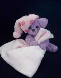 You will love to learn how to make a washcloth teddy bear and it makes the perfect baby shower gift. Be sure to watch the video tutorial too. How To Make Washcloth Teddy Bear Video Tutorial Gaby Mit-y gabymity Handtuch Tiere You will love to learn Baby Shower Gifts, Baby Gifts, Towel Origami, Bebe Shower, Baby Teddy Bear, Towel Animals, How To Fold Towels, Easy Baby Blanket, Baby Washcloth