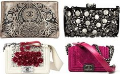 Chanel bags...