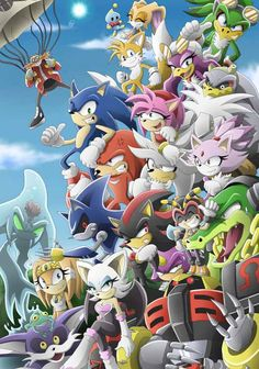 Awesome Collection of Sonic The Hedgehog Fan Art | Abduzeedo Design Inspiration & Tutorials