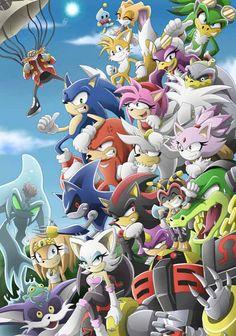 Personajes completos de Sonic
