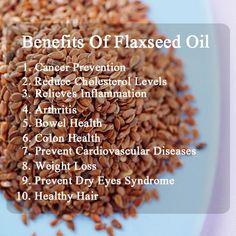 10 Amazing Health Benefits Of Flaxseeds