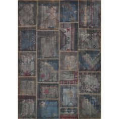 Hand-woven Ava Wool Pinecone Patchwork Rug - Overstock™ Shopping - Great Deals on Alexander Home Runner Rugs
