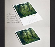 Graphic desktop calendar 2018 | A forest lure .. made on the theme of ancient enchanting rainforests of New Zealand.  ✤ 12 pages of photos in color + 1 cover ✤ Pages in 5x7 inch format (photos are 5x5) ✤ Printed in a professional local laboratory on 80lbs card stock with matte finish ✤ The pages are independent and unbound ✤ Delivered with 5mm thick cherry plywood support and a Mauly document clamp.  ✤ BONUS: At the end of the year, cut the pages just above the name of the month and you will…
