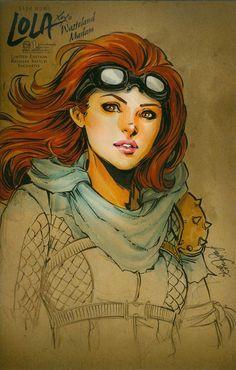 Lola Xoxo Wasteland Madam #1 Cover D Incentive Siya Oum Sketch Cover