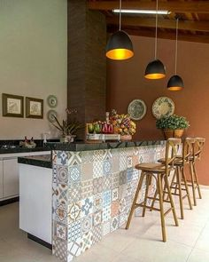 Cool 37 Lovely Residence Design Ideas By Studio Build In Kansas City Usa. Home Decor Kitchen, Kitchen Interior, Interior Design Living Room, Home Kitchens, House Rooms, Kitchen Flooring, Kitchen Remodel, Sweet Home, Room Decor