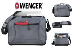 """New TSA-Friendly Wenger Spirit 16"""" Laptop / MacBook Pro Messenger Bag #SwissGear"""