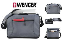 "New TSA-Friendly Wenger Spirit 16"" Laptop / MacBook Pro Messenger Bag #SwissGear"