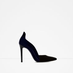 ZARA - WOMAN - COMBINED HIGH HEEL STRAPPY SHOES