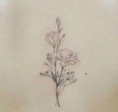 Tags mais populares para esta imagem incluem: tattoo, delicate tattoo e flower…