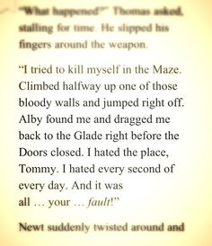 I don't think he meant I think he was just trying to get Thomas upset so he would shoot him :'(