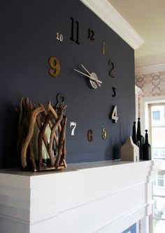 Entzuckend @Lauren Stevens Wall Clock For Your Apartment. Next Future Project For The  Dinning Room