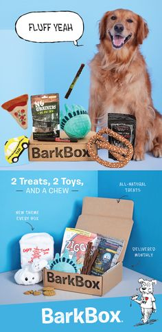 BarkBox delivers unique toys & all-natural treats every month, so you can spend more time on important things...like belly scratches & fetch.