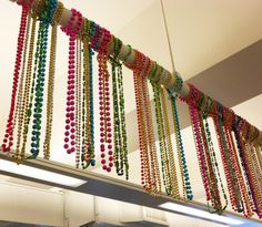 A new way to use your Mardi Gras beads