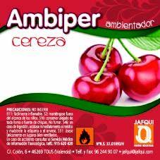 Ambientador frutal aroma cereza  Ambientador profesional de efecto duradero y agradable para ambientar cualquier estancia