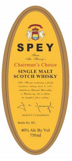 Spey Chairman's Choice Single Malt Scotch Whiskey